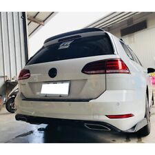 Flat Black 284 PDL Type Trunk Spoiler Wing For 2015~19 Volkswagen Golf MK7 Wagon
