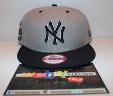 New Era New York NY Yankees 1903 Heather Gray Snapback Med-Lg Cap Hat New