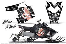 POLARIS RUSH PRO RMK 600/800 SLED SNOWMOBILE GRAPHICS KIT CREATORX WRAP YRB
