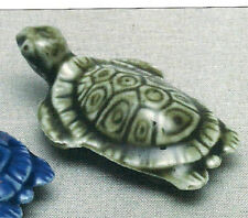 Wade Turtle Color Var. Whimsies Set 9, 1978 With Box