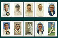 GLOUCESTERSHIRE - CIGARETTE CARD HEROES -  POSTCARD SET # 2