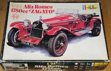 Heller Alfa Romeo 1750cc ZAGATO 1:24