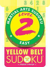 Good, Level 2 Yellow Belt Sudoku (Martial Arts Sudoku), Longo, Frank, Book