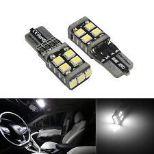 2x Canbus T10 SMD 11 LED Auto Innenraumbeleuchtung Lampen Standlicht Birnen Weiß