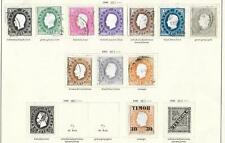 Portuguese TIMOR stamps 1886 Collection of 12 CLASSIC stamps HIGH VALUE!