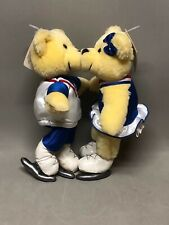 Hallmark 2002 Olympic Winter Games Kiss Kiss Ice Skating Bears Kissing Bears Tag