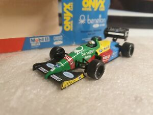 ONYX / F1'88 - BENETTON FORD B188 - A NANNINI - 1/43 SCALE MODEL CAR 011