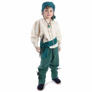 Mittelalterliche Piraten Kinderhose   Hose für Kinder Jungen Piratenkostüm Pirat
