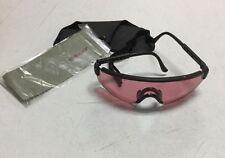Tasco 1200V Vermillion (red) Polycarbonate Wrap-Around Lens Sport Glasses