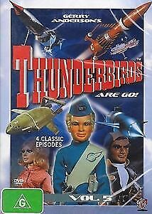 Thunderbirds : Vol 5 DVD (PAL, 1999) AS NEW