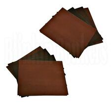 12 WET DRY MIXED EMERY SAND PAPER EXTRA FINE MEDIUM COARSE SHEET RUST METAL 28A