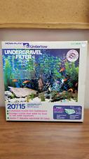 "New Penn Plax Undertow ""e"" Under Gravel 15/20H Gallon Fish Tank Aquarium Filter"