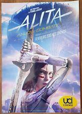 Alita Battle Angel Original Movie Poster 29 cm x 12 cm 2019 Portugal Europe