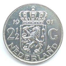 2½ Gulden, Silber, 1961, Niederlande (1925) <