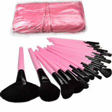 32 pcs Pink Ultra Soft Cosmetic Makeup Brush Professional set Pouch Bag Case NEW