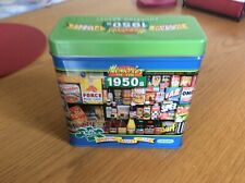 1950's jigsaw in a tin