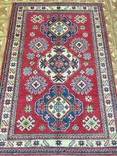 Antique Replica Rug Artistic Decoration Handmade Rug 4' x 6' Kazak