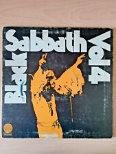 "Black Sabbath Vol4 1972 Vertigo Swirl - LP Vinile 33 1/3 12"" MADE IN ITALY"