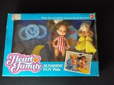 Mattel HEART FAMILY Sunshine Fun Water Set 2645, NEW but opened