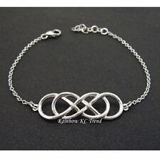 Infinity Revenge Emily Thorne Silver Double Infinity Bracelet