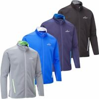 STUBURT GOLF MENS ENDURANCE SPORTS THERMAL FULL ZIP WINDPROOF FLEECE JACKET