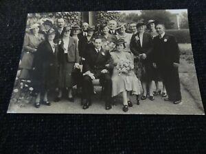 Social History Postcard Wedding Padstow Cornwall - 44193