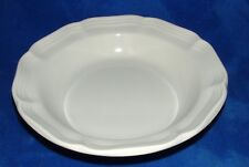 """Mikasa FRENCH COUNTRYSIDE Rimmed Soup Cereal Bowl 8.5""""  F9000 White"""