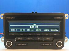 VW GOLF PASSAT TOURAN CADDY SCIROCCO AMAROK RCD310 CD RADIO MP3 LED STEREO CODE