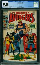 Avengers #68 CGC 9.0 -- 1969 -- Vison Black Panther Thor Ultron-5 #1621575006