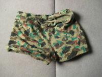 Vintage GI Joe Camo Shorts