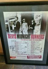 More details for  dexy's midnight runners - fully signed tour poster 2003 - very rare