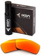 Polarized IKON Iridium Replacement Lenses For Oakley Gascan S SMALL Fire Orange