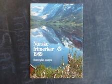 1989 NORWAY STAMP YEAR PACK