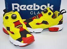 New Reebok InstaPump Pump Fury OG Black/Yellow/Red/White Running 4.5 Rare Retro