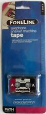 FoneLine MC-60 Telephone Answer Machine Tape X 4
