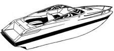 7oz BOAT COVER SEA RAY 230 CUDDY CABIN W/ SWPF 1988