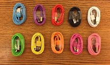 10 Cable Color LOT NEW USB Data Sync Cord Charger for iPhone 6 6Plus Iphone 5