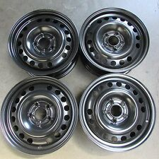 """Set 4 cerchi in ferro Opel Zafira A 99-05 15"""" 6J ET43 fori 5x110 (6755 51-3-A-1)"""