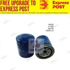 Wesfil Oil Filter WZ56 fits Holden Shuttle 1.8,2.0