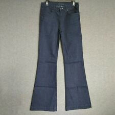 Juicy Couture High Rise Flare Womens Jeans Size 28 Long Dark Wash