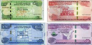 Äthiopien / Ethiopia P.neu 10 - 200 Birr 2020 unc (1)
