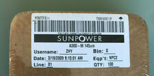 12 x Genuine Sunpower monocrystalline solar cells, ~3.0W Each