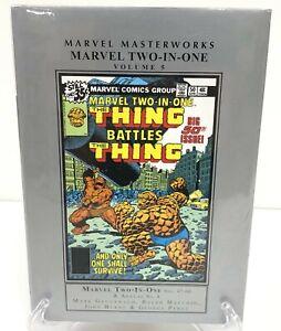 Marvel Masterworks Two-In-One Volume 5 Hardcover HC Marvel Comics New Sealed $75