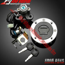 Ignition Switch Gas Cap Cover Key Lock Fuel Set For Suzuki SV650 99-02 DL 02-09