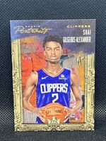 2018 Panini Court Kings Shai Gilgeous-Alexander /199 Rookie Portraits