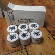 Humbrol Bobcat Paint Vintage 1980s Box of 6x 15ml Jars Gloss White READ