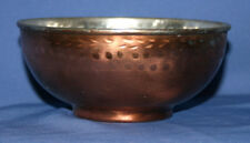 Vintage Hand Made Tinned Copper Bowl Cup