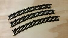 Atlas Snap Track HO scale curved 30 degree track (3 pieces)