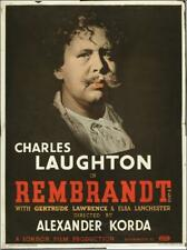 RARE 16mm Feature: REMBRANDT (CHARLES LAUGHTON / GERTRUDE LAWRENCE) ORIGINAL