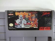 ClayFighter Super Nintendo SNES CLEANED TESTED AND WORKING FREE SHIPPING